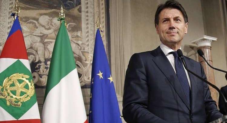 رئيس الوزراء الإيطالي، جوزيبي كونتي