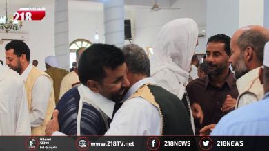 "Photo of عيد الليبيين.. فرحة وعناق ""إخوة وطن"""