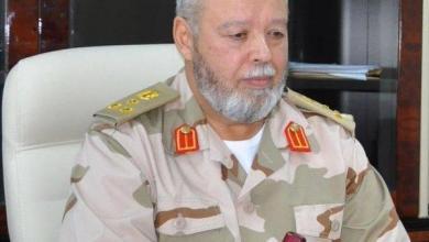 رئيس الأركان العامة للجيش الليبي اللواء عبد الرحمن الطويل
