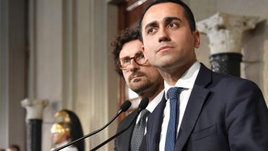 """نائب رئيس الوزراء وزير العمل والتنمية الاقتصادية الإيطالي """"لويجي دي مايو"""""""