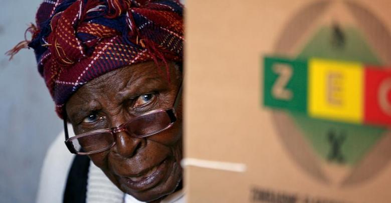 انتخابات زيمبابوي