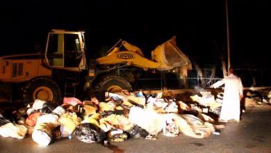 Photo of حملة لتنظيف شوارع سرت من مخلفات العيد