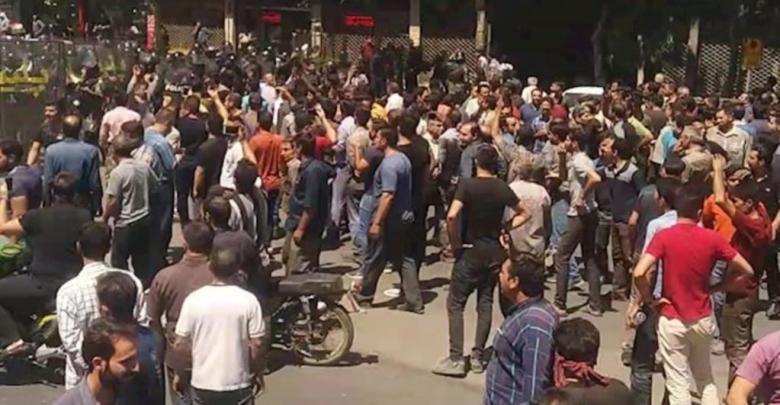 احتجاجات إيرانية بطهران