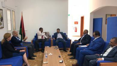غسان سلامة مع مع عدد من نواب المنطقة الجنوبية و طرابلس و نائبة المبعوث ستيفاني وليامز