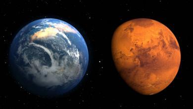 Photo of الكوكب الأحمر يقترب من الأرض