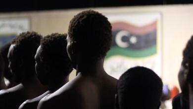 """صورة دومينيك بارتش: مراكز الإيواء الليبية """"معسكرات اعتقال"""""""