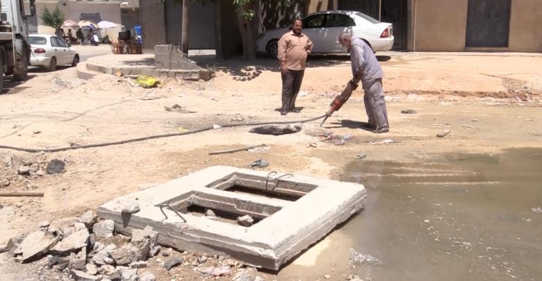 الشركة العامة للمياه والصرف الصحي في ترهونة