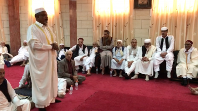 ملتقى أعيان ومشائخ المنطقة الغربية والجنوبية في مدينة البيضاء