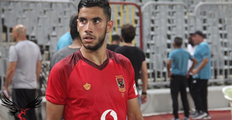 اللاعب المصري ناصر ماهر