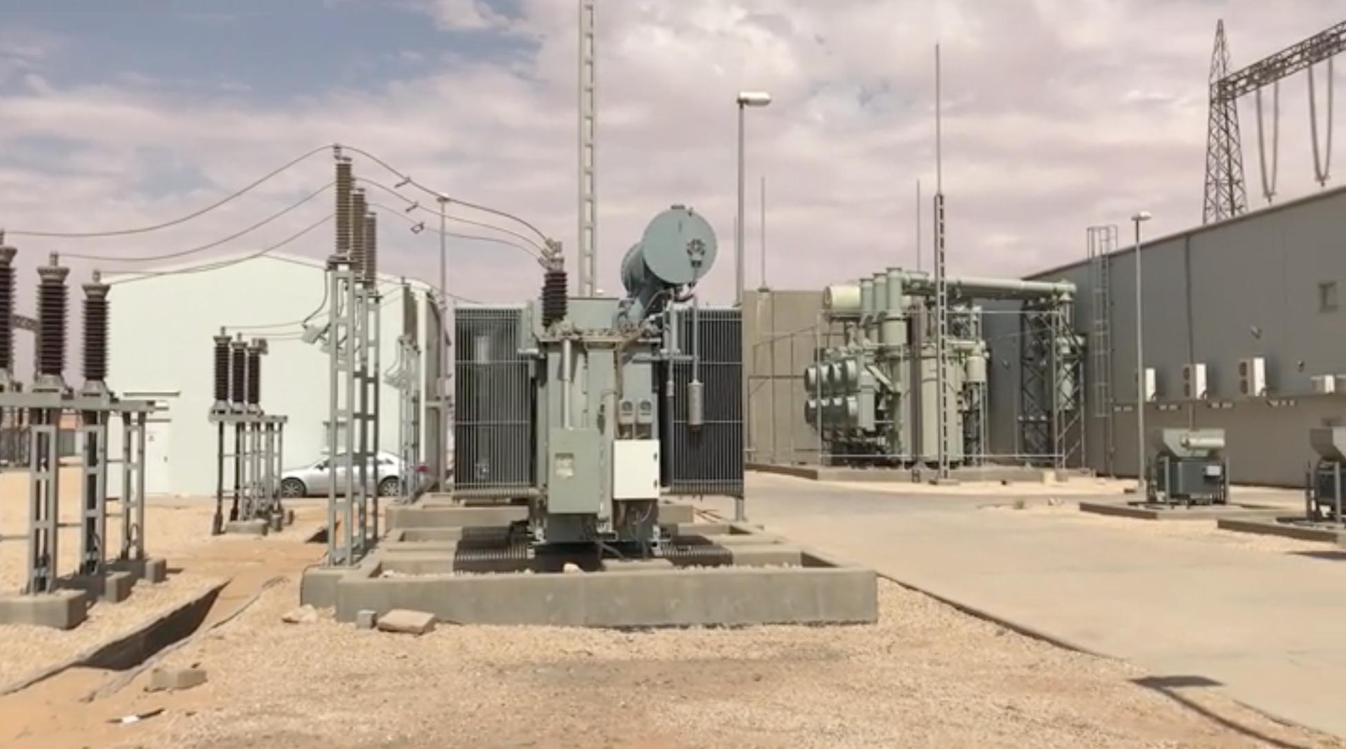 دائرة توزيع الكهرباء غدامس