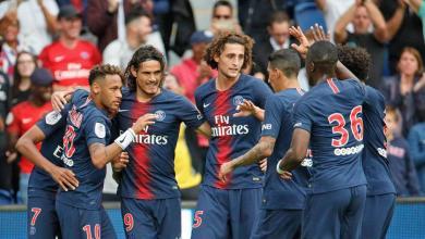 صورة باريس سان جريمان يسجل فوزه الثالث توالياً