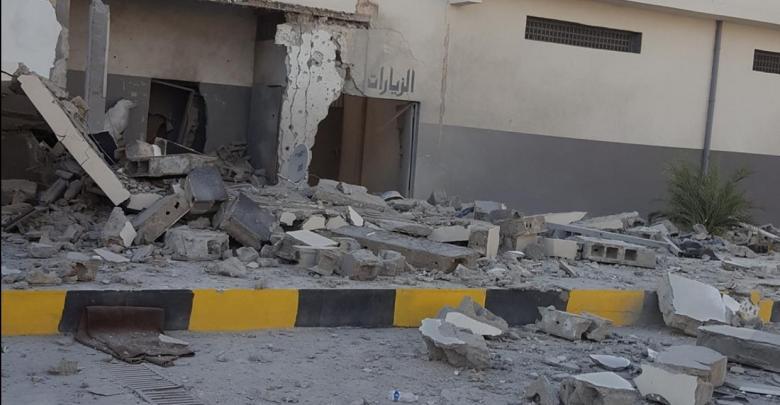 سجن الجديدة بالقرب من منطقة الفرناج في طرابلس
