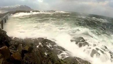 """Photo of """"زلزال عنيف"""" يُبْقي المحيط الهادي.. هادئاً"""