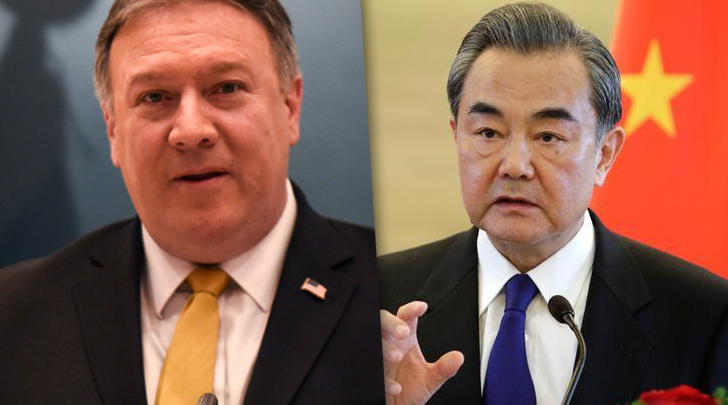 وزير خارجية كوريا الشمالية ري يونج ووزير الخارجية الأميركي الخارجية الأميركي مايك بومبيو
