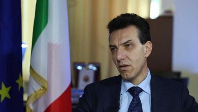 السفير الإيطالي لدى ليبيا جوزيبي بيروني