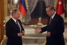رجب طيب أردوغان و فلاديمير بوتين