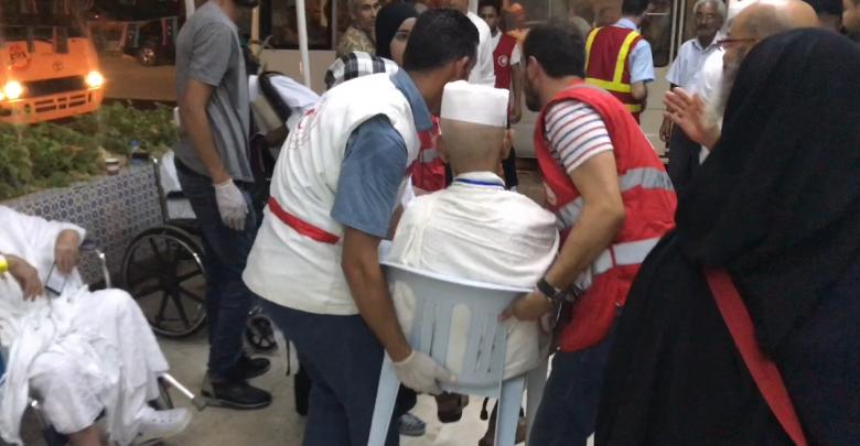 معاناة الحجاج - مطار امعيتيقة
