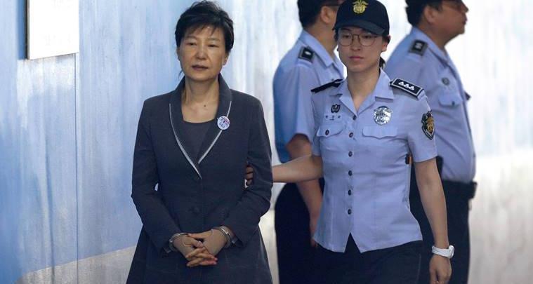 رئيسة كوريا الجنوبية السابقة باك جون هاي