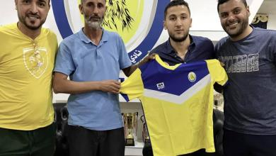 لاعب الوسط أحمد خزام