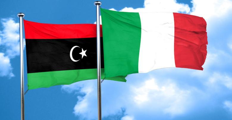 إيطاليا - ليبيا