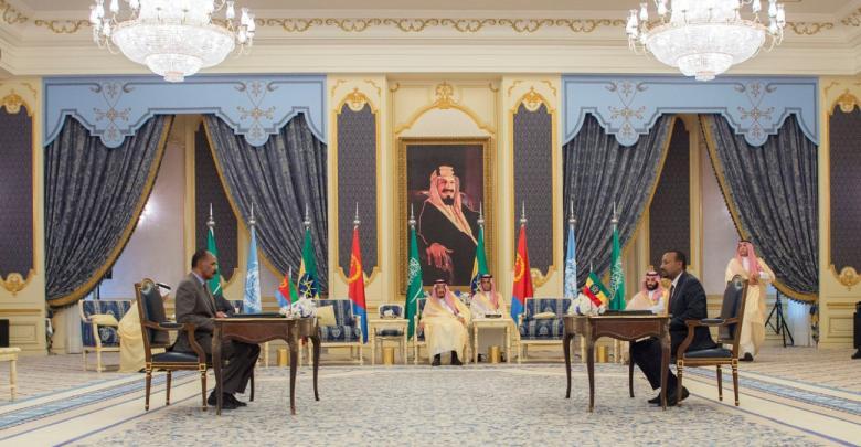 اتفاق سلام بين إريتيريا وإثيوبيا برعاية سعودية