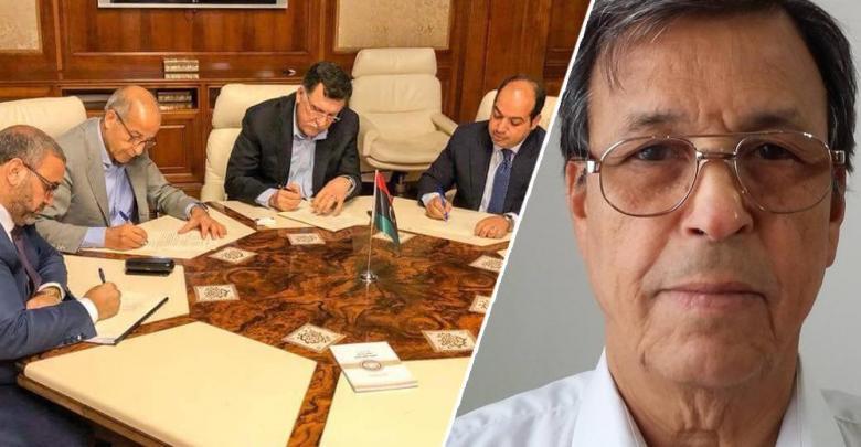 الخبير الاقتصادي عطية الفيتوري - التوقيع على برنامج الإصلاح الاقتصادي