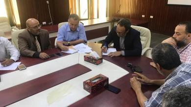 وكيل وزارة التعليم يجتمع في طرابلس