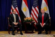 ترامب - السيسي على هامش انعقاد الجمعية العمومية السنوية لمنظمة الأمم المتحدة
