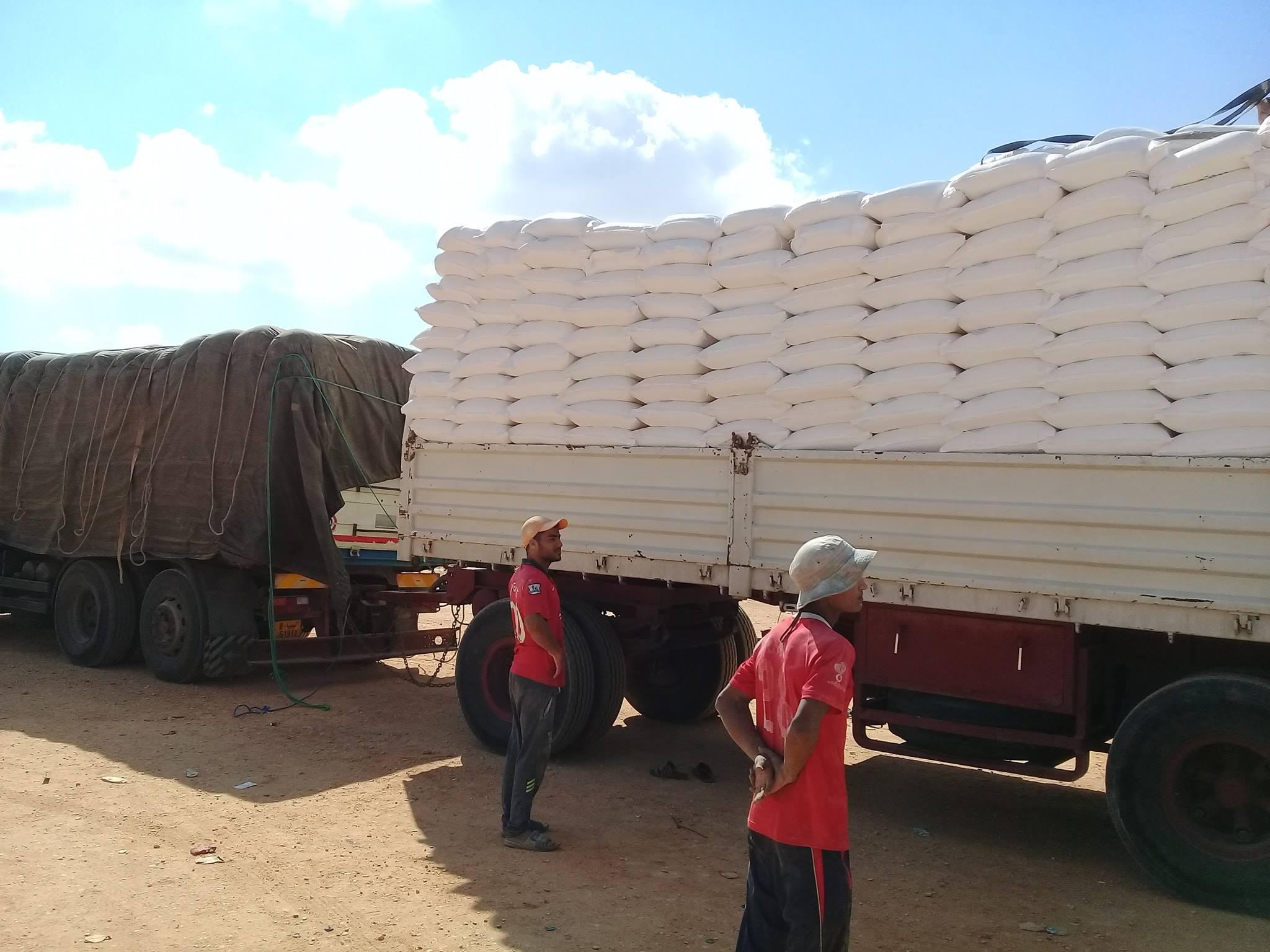 توزيع شحنات دقيق على مخابز المرج