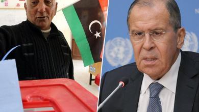 صورة لافروف: ليبيا ليست جاهزة للانتخابات