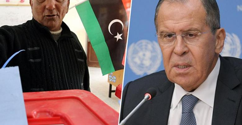 سيرغي لافروف - الانتخابات الليبية