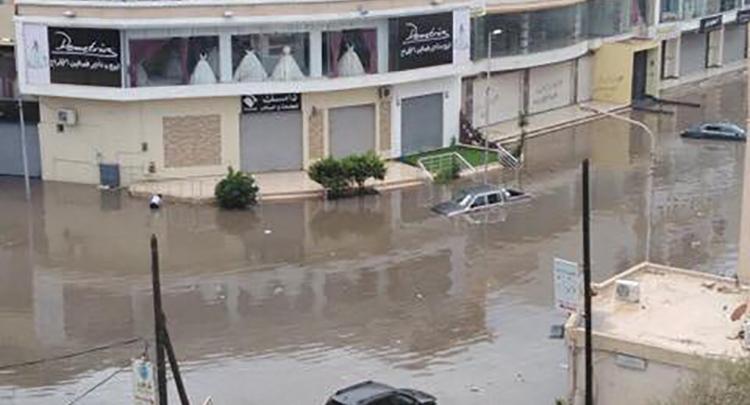 سيول في العاصمة طرابلس