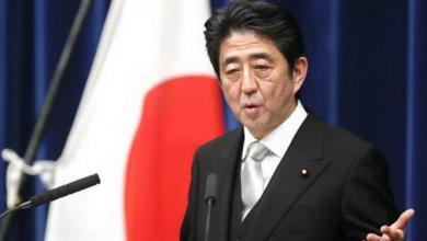 شينزو آبي رئيس وزراء اليابان