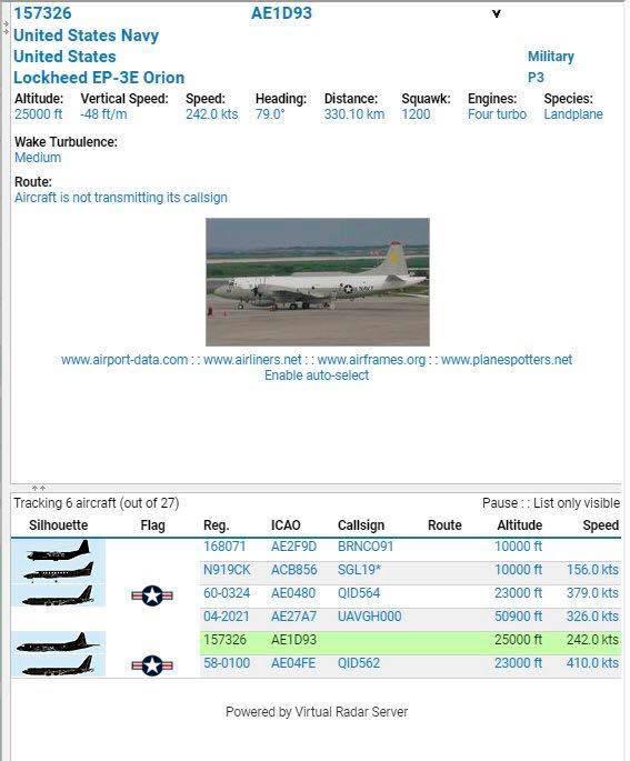 طائرة حربية أميركية وأخرى للمراقبة في الأجواء الليبية خلال الساعات الأخيرة