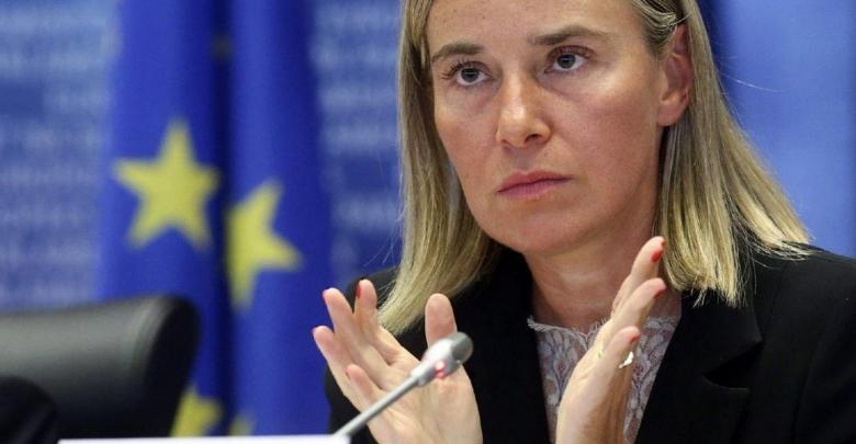 مسؤولة الشؤون الخارجية في الاتحاد الأوروبي فيدركا موغيريني