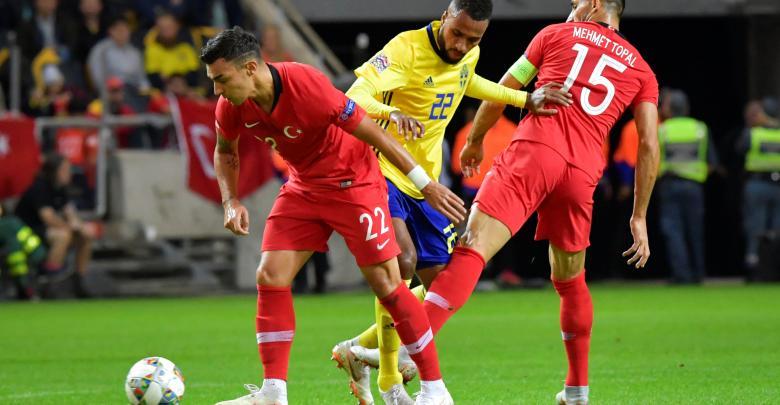 منتخب تركيا - منتخب السويد
