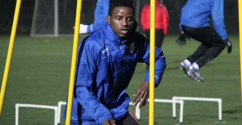 لاعب المحترف النيجيري جوزيف ناثنيال