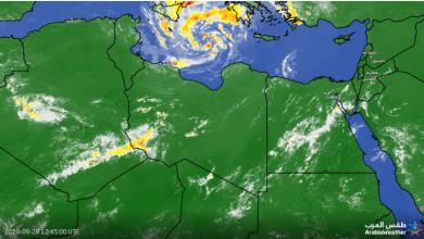 "Photo of ""العاصفة الاستوائية"" تقترب أكثر من ليبيا. إقرأ"