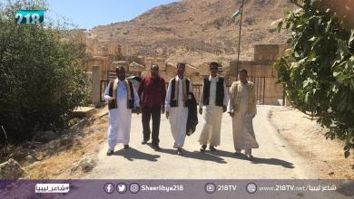 Photo of المتنافسون في الحلقة الثانية من برنامج شاعر ليبيا يقومون بجولة سياحية