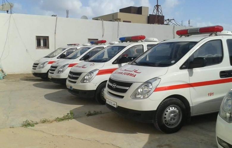 جهاز الإسعاف والطوارئ - طرابلس ارشيفية