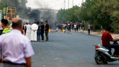صورة السلطات العراقية تفرض حظر التجول بالبصرة