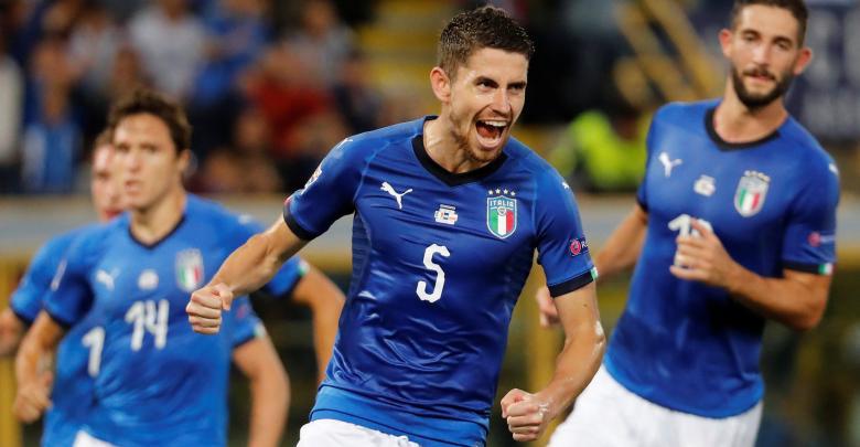 المنتخب الإيطالي دوري الأمم الأوروبية