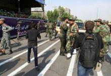هجوم يستهدف عرضا عسكريا في إيران