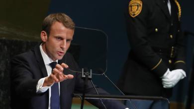 الرئيس الفرنسي ايمانويل ماكرون - الجمعية العامة للأمم المتحدة