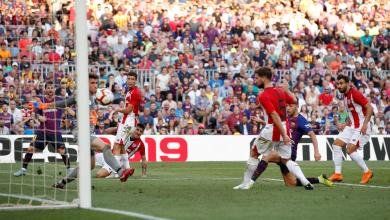 فريقي برشلونة وأتلتيك بلباو
