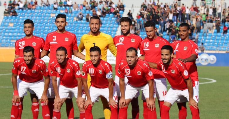 مباراة ذهاب نهائي كأس غرب أسيا بين الجزيرة الأردني ونظيره القوة الجوية العراقي