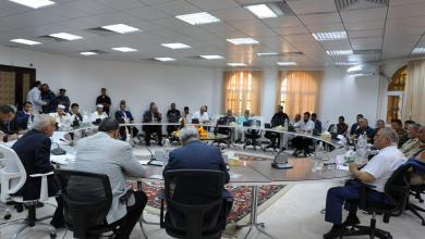 اجتماع البعثة الأممية مع أطراف النزاع بمدينة الزاوية