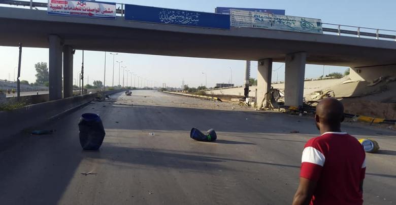 طرابلس طريق المطار