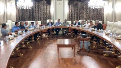 اجتماع فائز السراج مع عدد من القيادات الأمنية في طرابلس