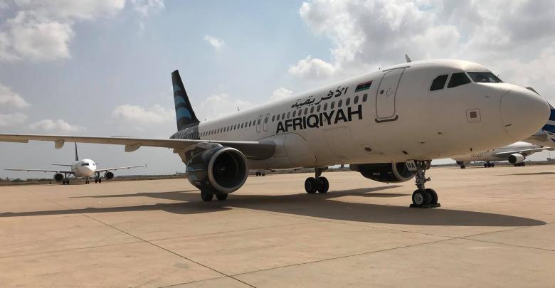 مطار مصراتة الدولي - خطوط الافريقية